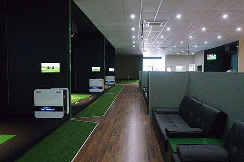X-Golf Lynbrook Seating