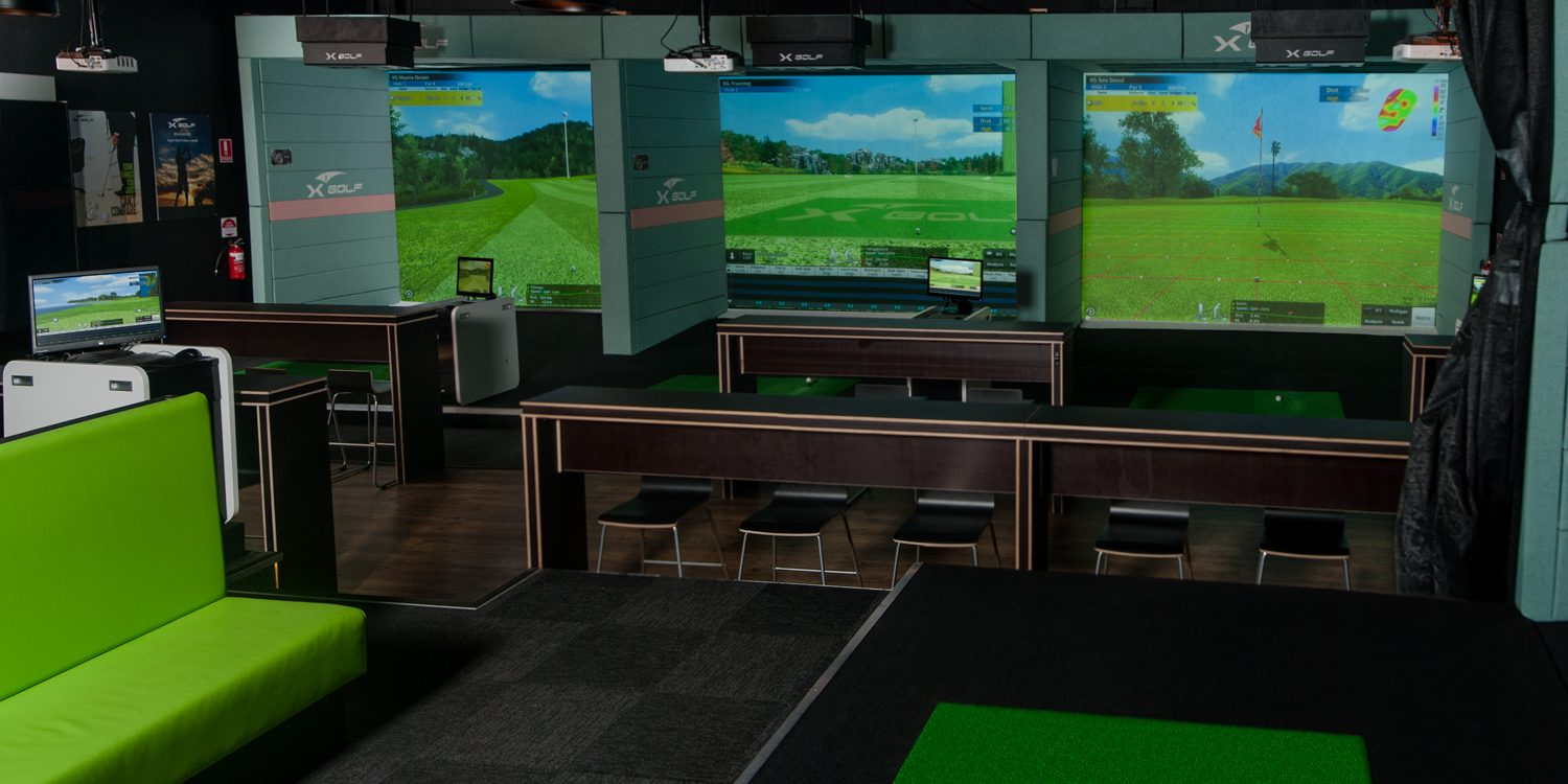 X-Golf Ringwood - View of Multiple Simulators