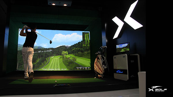 X-Golf Simulator