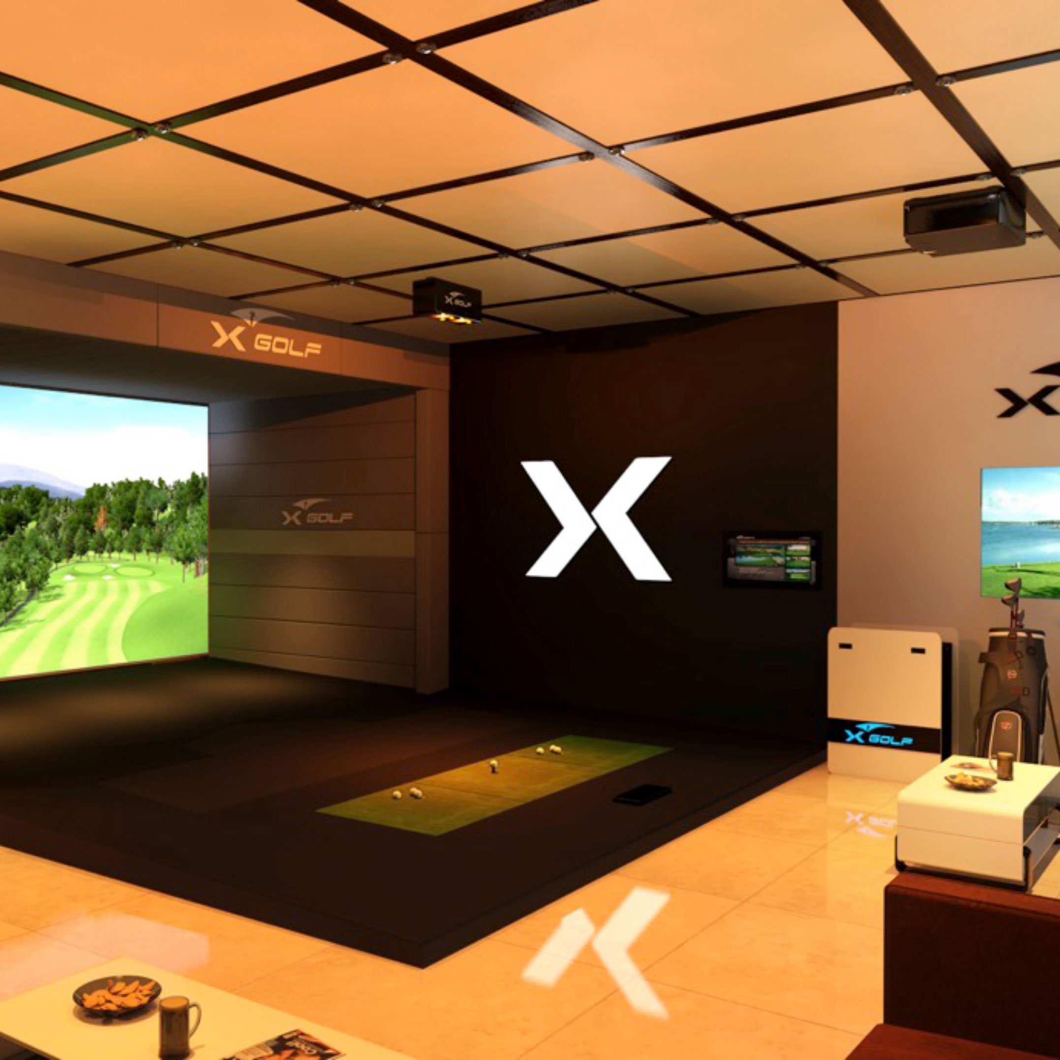 X-Golf Residential 3D Render