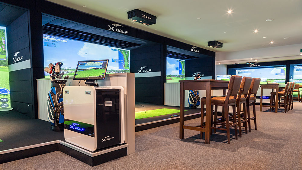 X-Golf Avonhead Simulators and Viewing Area