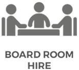 X-Golf Boardroom Line Drawing - People Meeting in Boardroom