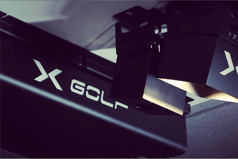 X-Golf Sensory Cameras Close Up