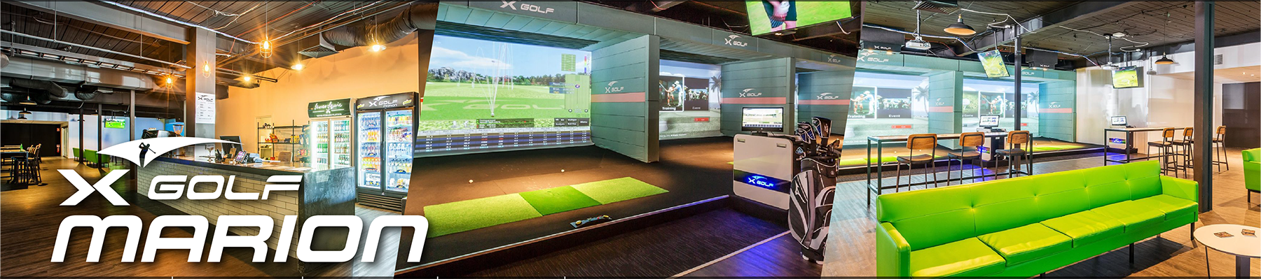 X-Golf Marion Collage - Venue, Bar and Simulators
