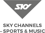 Sky Sports TV Line Drawing