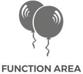 X-Golf Function Area Line Drawing - Balloons and Text