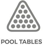X-Golf Pool Tables Line Drawing - Balls and Rack