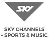 X-Golf Sky Sports Logo and Text