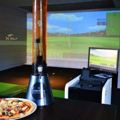 X-Golf Parkwood - Beer Tower and Pizza
