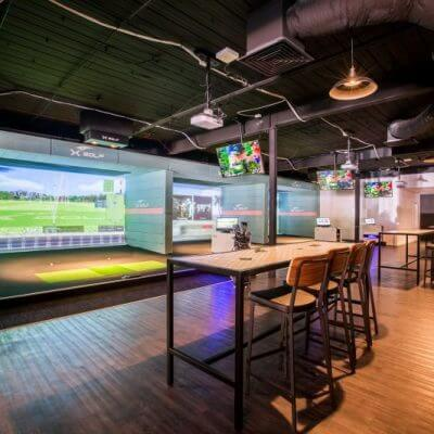 X-Golf Marion Adelaide - Simulators and Viewing Area