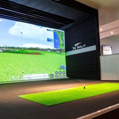 X-Golf Avonhead Simulator Close Up