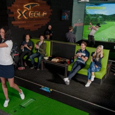 X-Golf Ringwood - Group Playing Indoor Golf