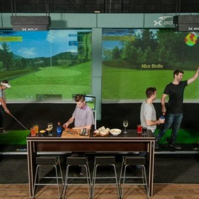 X-Golf Ringwood - Players Enjoying Indoor Golf