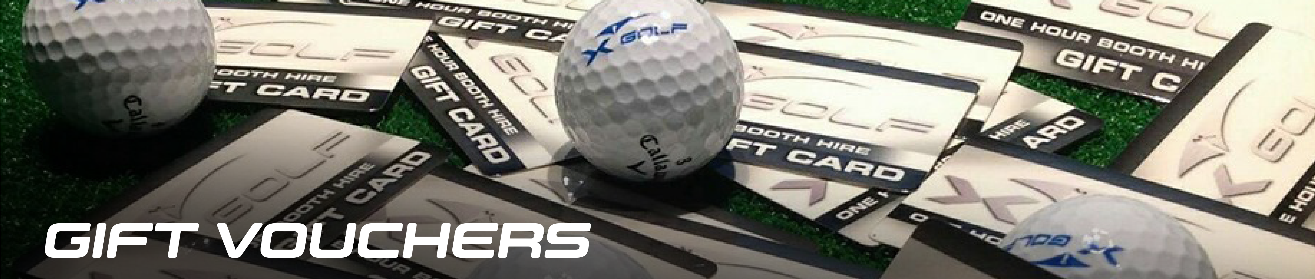 X-Golf Gift Vouchers and Ball