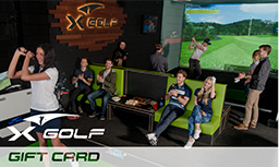X-Golf Gift Vouchers - Playing Group