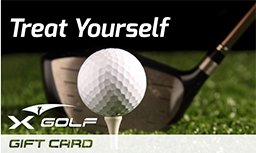 X-Golf Gift Vouchers - Treat Yourself - Ball and Club