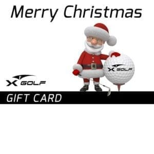 X-Golf Gift Voucher- Santa with Golf Ball
