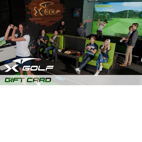 X-Golf Gift Voucher - Group of Indoor Golf Players