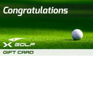 X-Golf Gift Voucher - Ball and Green
