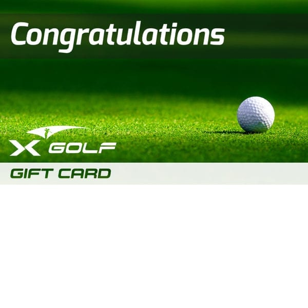 X-Golf Gift Voucher - Ball and Green