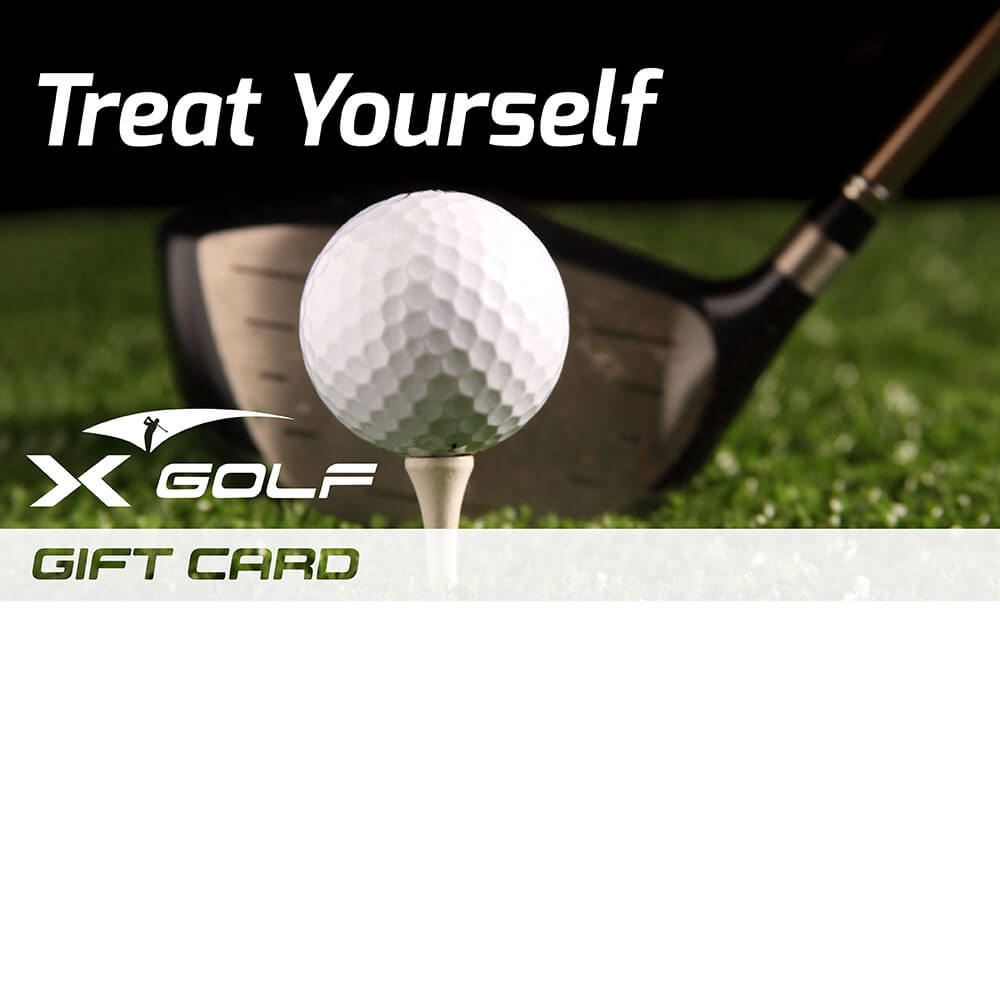 X Golf Gift Voucher Treat Yourself X Golf
