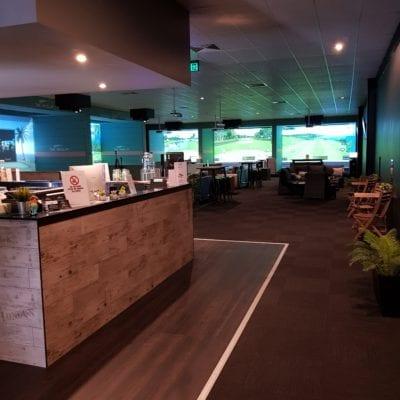 X-Golf Macarthur Bar- Gaming Area