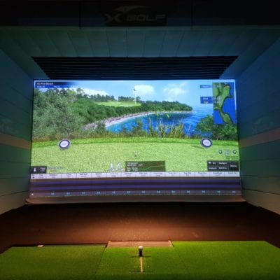 X-Golf Macarthur Simulator