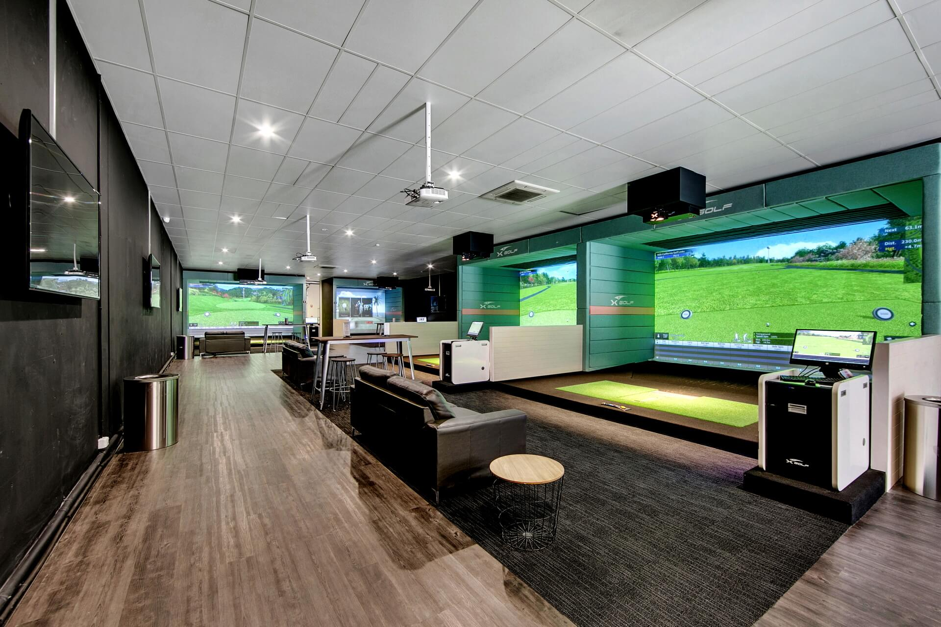 X-Golf Franchise Mornington Gaming Area