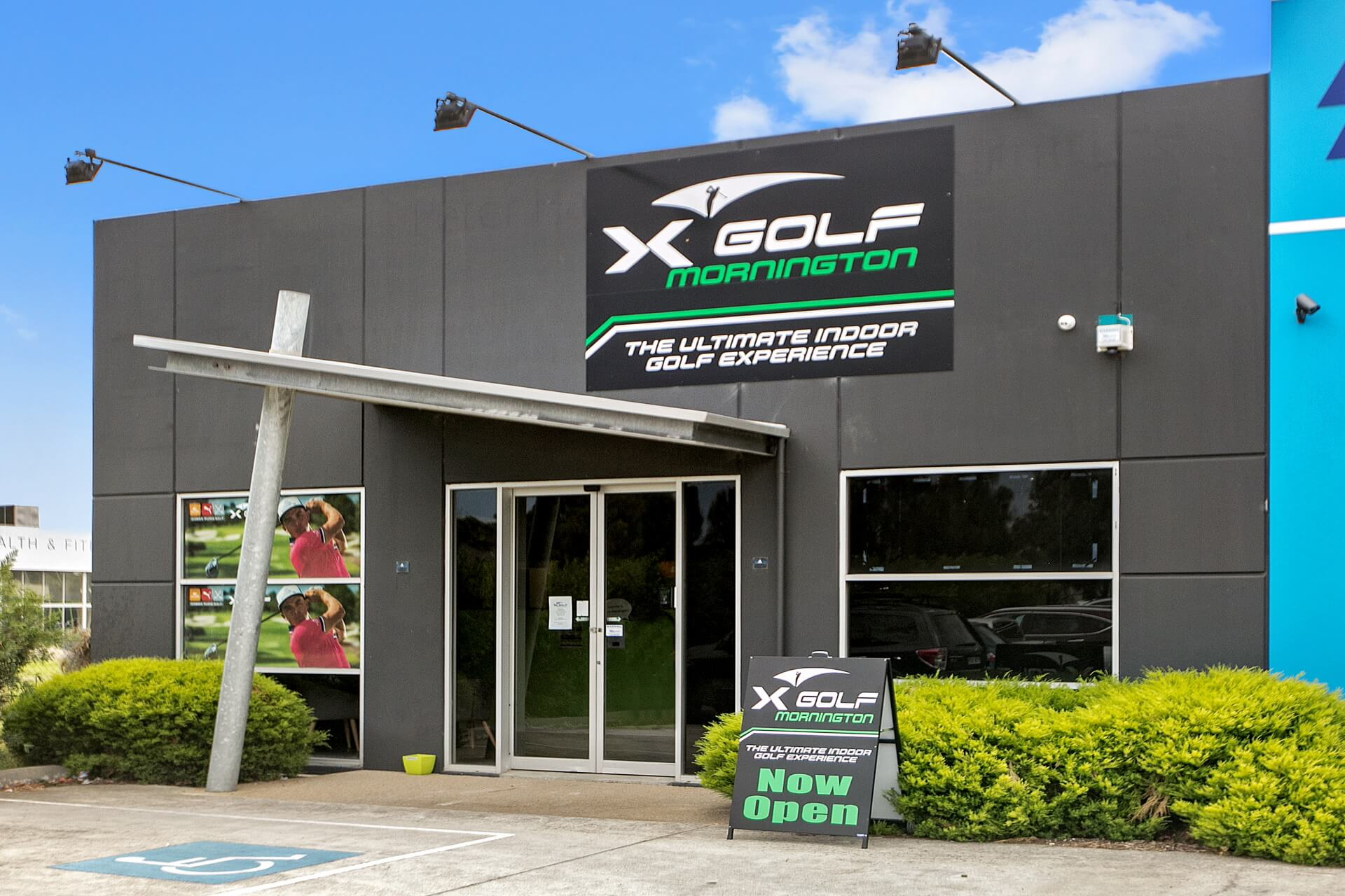 X-Golf Mornington Entrance