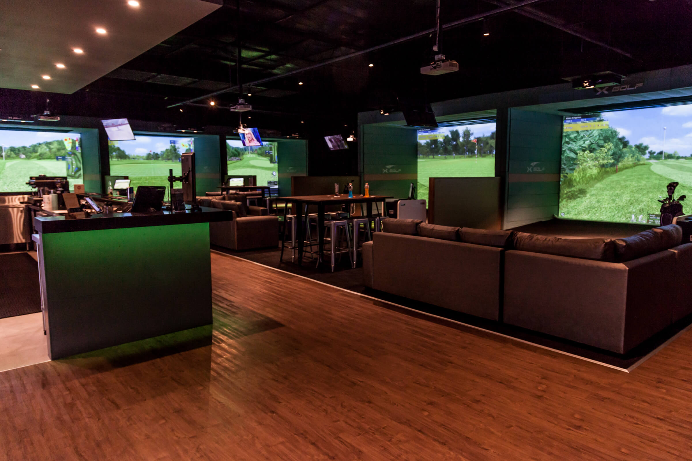 X-Golf Shire main simulator Area