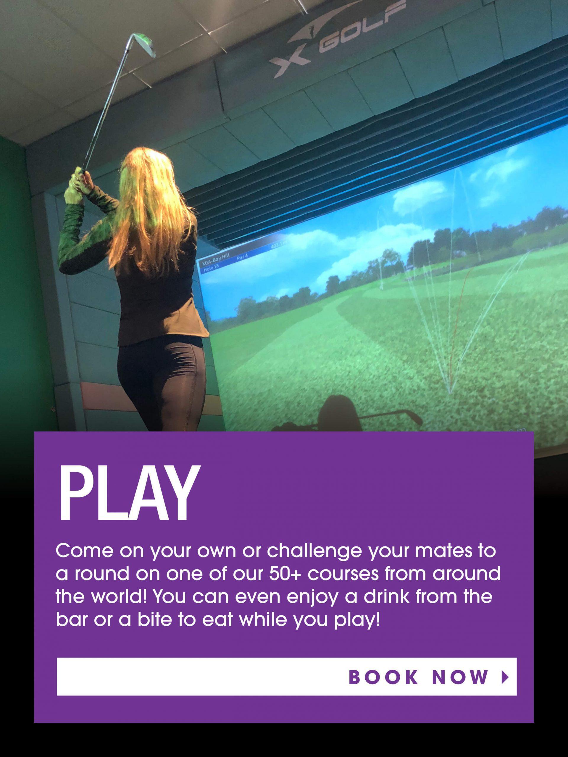X-Golf Simulators Book Now