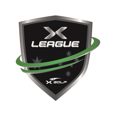 X-Golf Australia X-league logo