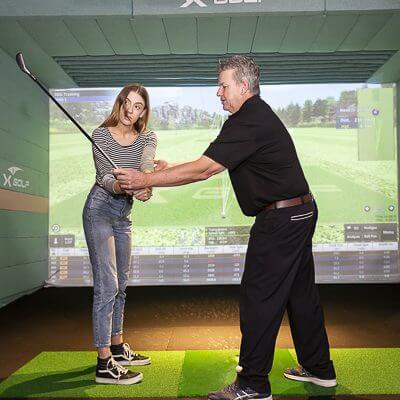 X-Golf Golf Lesson