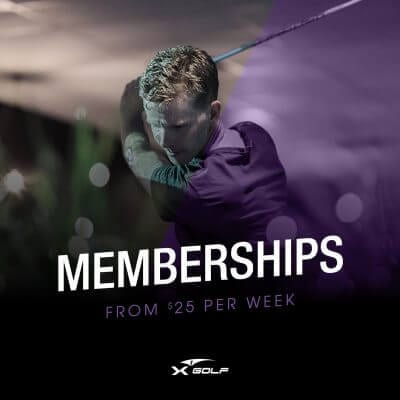 X-Golf golf memberships