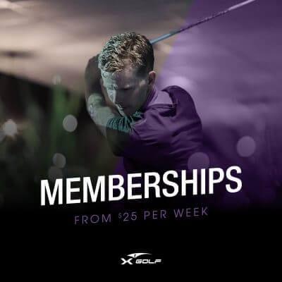 X-Golf golf memberships