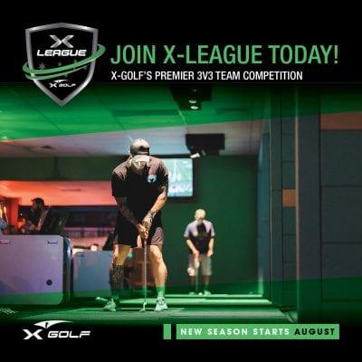 X-Golf X-league August