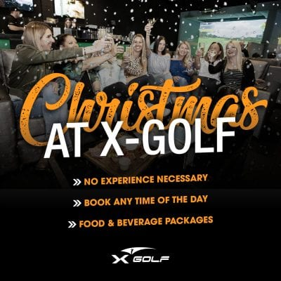 X-golf christmas parties