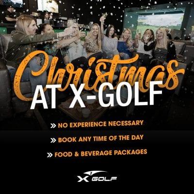 X-golf christmas parties