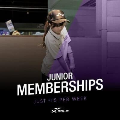 x-golf junior golf membership