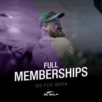 X-Golf full golf membership