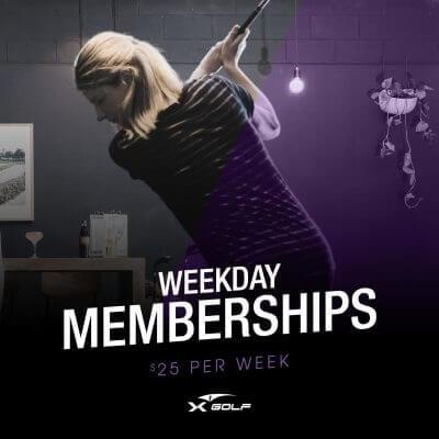 X-Golf midweek membership
