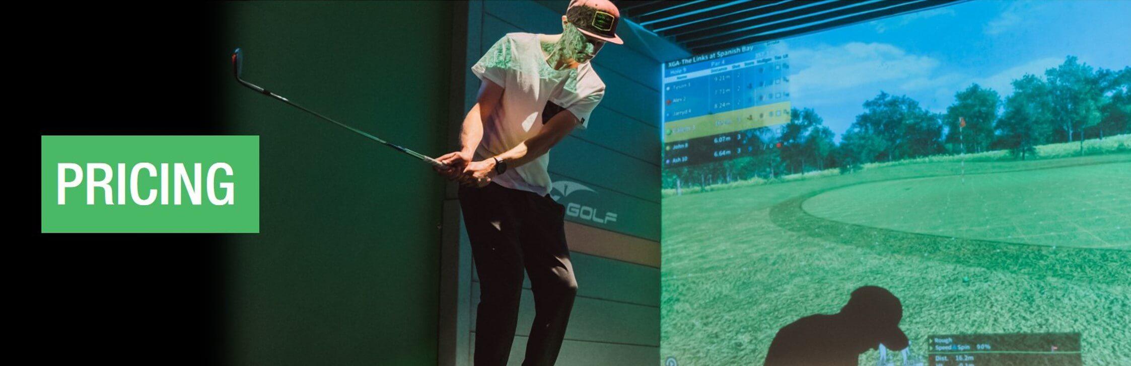 X-Golf Simulator Pricing