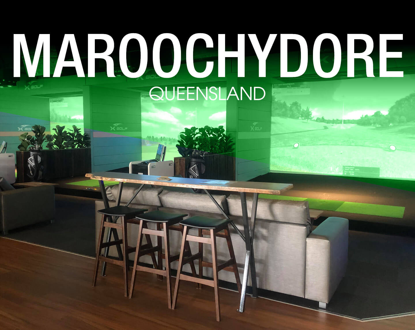 X-Golf Venue Locations Maroochydore