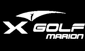 X-Golf Marion Logo White PNG